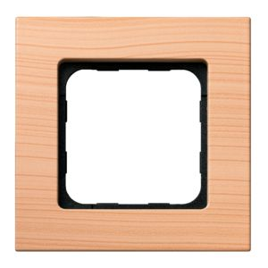 Wall Switch Frame - Light Bamboo