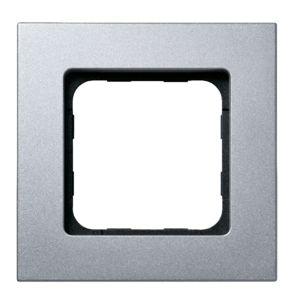 Wall Switch Frame - Matte Silver