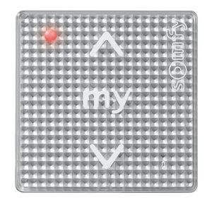 Wall Switch Button - Silver