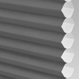 Plain Electric Honeycomb Blind - Black