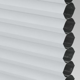 Blackout Electric Honeycomb Blind - White