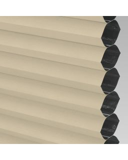 Blackout Electric Honeycomb Blind - Barley