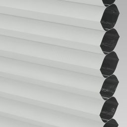 Blackout FR Electric Honeycomb Blind - White