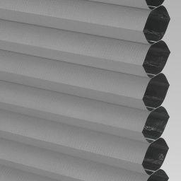 Blackout FR Electric Honeycomb Blind - Concrete