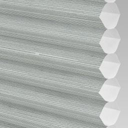 Silkweave Electric Honeycomb Blind - Ash