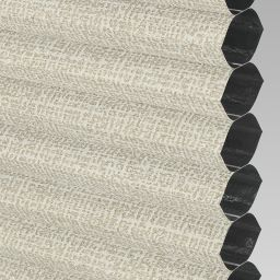 Matrix Blackout Electric Honeycomb Blind - Cream