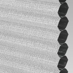 Matrix Blackout Electric Honeycomb Blind - Silver