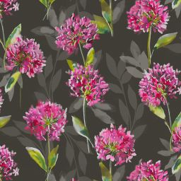 Zinnia Blackout Electric Roller Blind - Black
