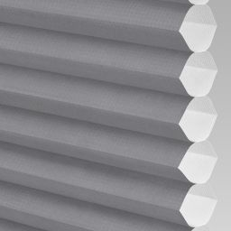 Plain Electric Honeycomb Blind - Concrete
