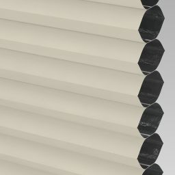 Blackout Electric Honeycomb Blind - Cream