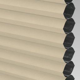 Blackout Electric Honeycomb Blind - Barley