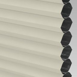 Blackout Electric Honeycomb Blind - Hessian