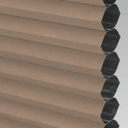 Blackout Electric Honeycomb Blind - Fudge