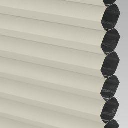 Blackout FR Electric Honeycomb Blind - Cream