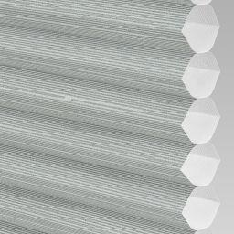 Silkweave Electric Honeycomb Blind - Ash