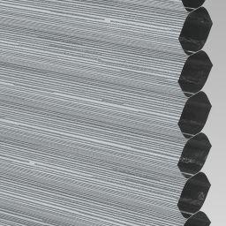 Silkweave Blackout Electric Honeycomb Blind - Raven