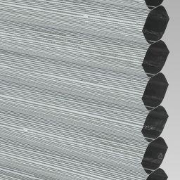 Silkweave Blackout Electric Honeycomb Blind - Ash
