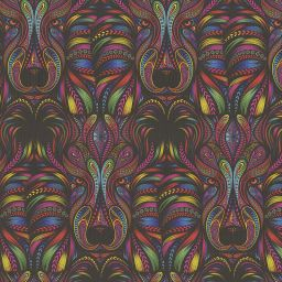 Aslan Blackout Electric Roller Blind - Rainbow