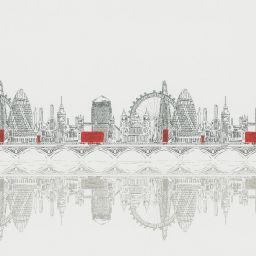 Skyline Electric XL Roller Blind - London