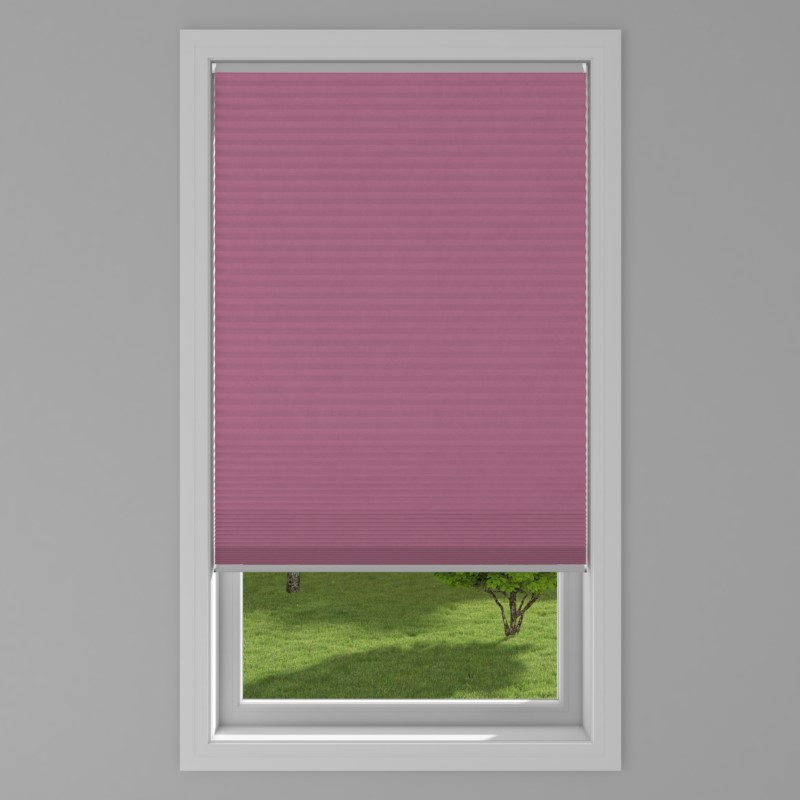 An image of Blackout Electric Honeycomb Blind - Berry