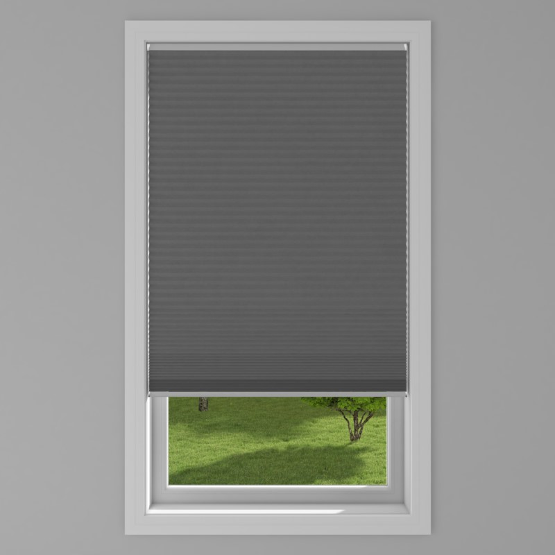 An image of Blackout Electric Honeycomb Blind - Black