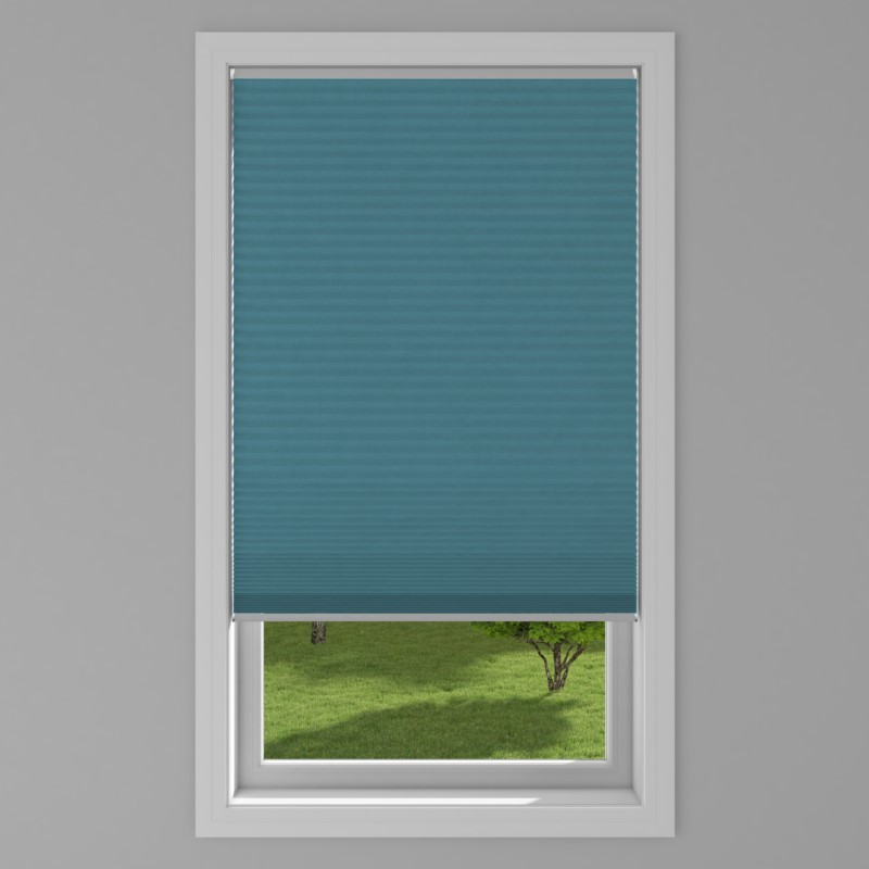 An image of Blackout Electric Honeycomb Blind - Emerald
