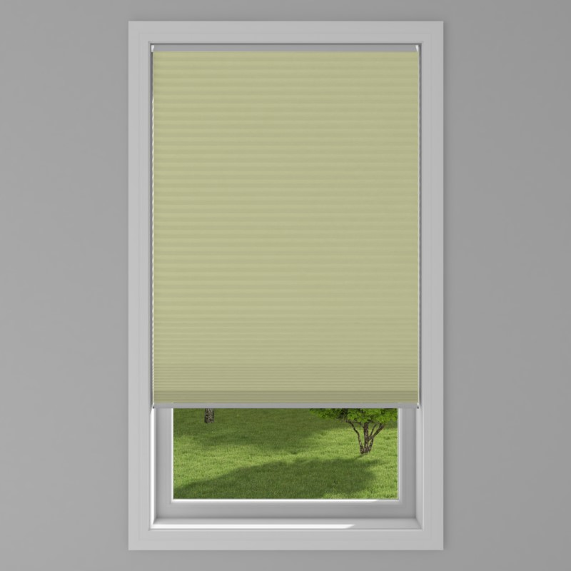 An image of Blackout Electric Honeycomb Blind - Green